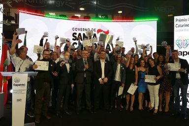 Governo do Estado premia iniciativas inovadoras de Santa Catarina
