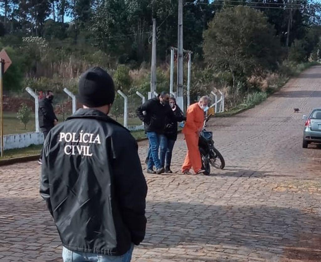 Polícia Civil e IGP realizam reconstituição de homicídio em Sede Belém