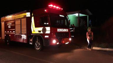Mulher sofre queimaduras ao tentar salvar cães de incêndio em Piratuba