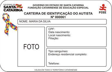 Carteira de Identificação do Autista será emitida em Santa Catarina