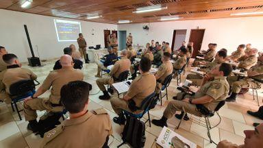"""Policiais Militares do 26°BPM participam do """"Curso de Ações de Combate aos Crimes Violentos contra o patrimônio"""""""