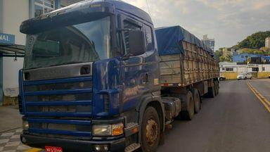 Aproximadamente 500 quilos de maconha são apreendidos na BR 282 em Joaçaba