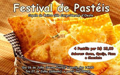 Capela do Bairro São Jorge realiza Pastelada nesta sexta (26) e sábado (27)