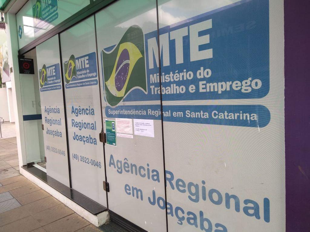 Agência do MTE será reaberta nesta terça-feira, 08
