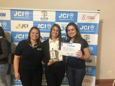 Aluna da Escola Celso Ramos, de Joaçaba, é a vencedora do Projeto Oratória nas Escolas 2019
