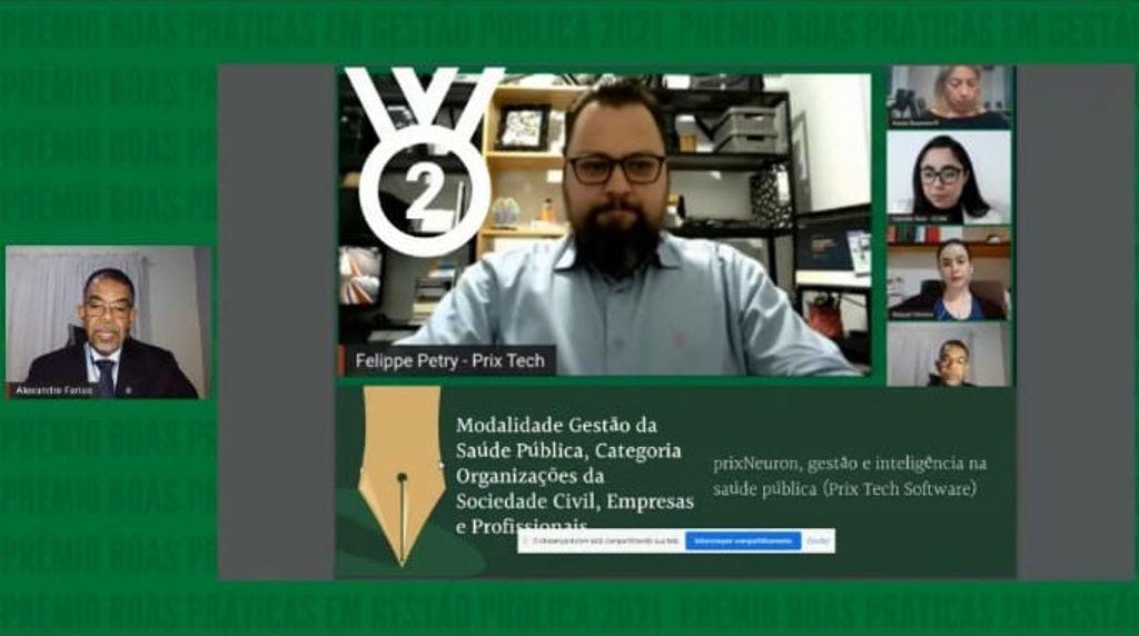 Prix Tech vence Prêmio Boas Práticas em Gestão Pública de Santa Catarina