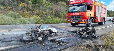 Identificado o morador de Capinzal que morreu em grave acidente com moto na Serra
