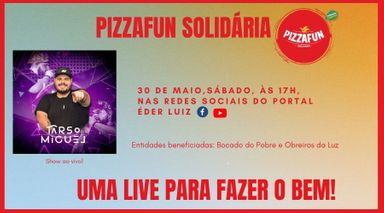 Live Solidária neste sábado, 30, vai arrecadar doações para duas entidades de Joaçaba