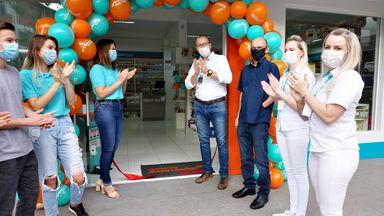 Farmácia Santa Tereza inaugura em Joaçaba