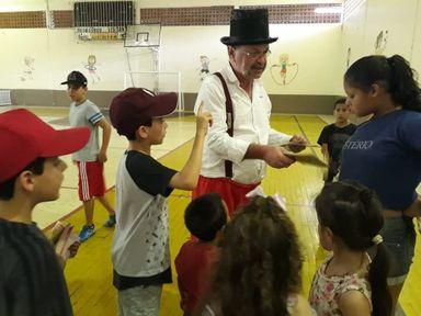 Caravana Cultural do Dia das Crianças é realizada em Herval d' Oeste