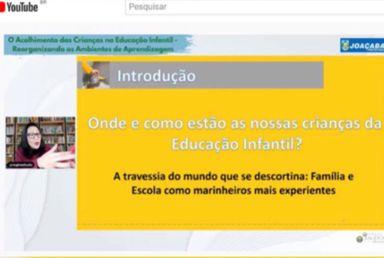 Professores da Educação Infantil da Rede Municipal de Ensino de Joaçaba realizam capacitação