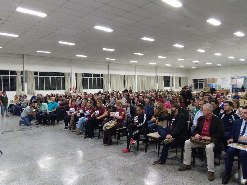 Seminário foi realizado no Pavilhão Frei Bruno