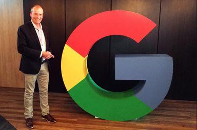 Prefeito de Luzerna visita a Google em São Paulo