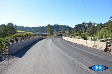 Obras de pavimentação da SC-467 são retomadas
