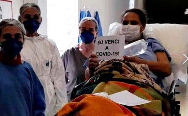 Moradora de Água Doce vence a Covid-19 após 80 dias internada